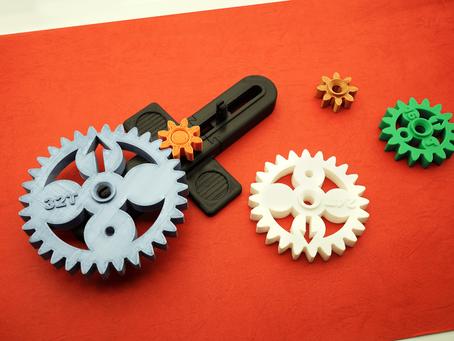 應用3D列印製作教學道具─齒輪傳動