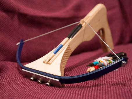 3D列印玩具弩槍DIY