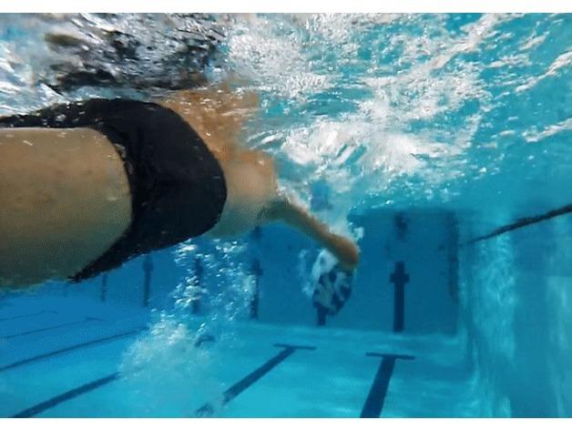 游泳矯正器 實際應用