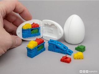 3D列印出奇蛋,創意發想印出來!