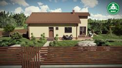 Könnyűszerkezetes ház - Csonkolt tető