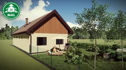 Könnyűszerkezetes ház - Előkert