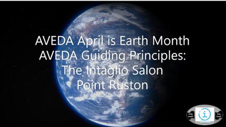 AVEDA Earth Month 2021 The Intaglio Salon Point Ruston
