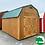"Thumbnail: *SOLD* 10' x 16' Treated ""Lofted Barn"""