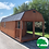 """Thumbnail: PRE-OWNED 12'x32' Treated """"Deluxe Lofted Cabin"""""""