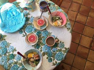 What breakfast brings! All zvp handmade!