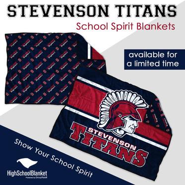 Stevenson blankets now on sale!