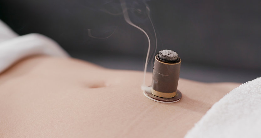 Chinese medicine moxibustion therapy .jp