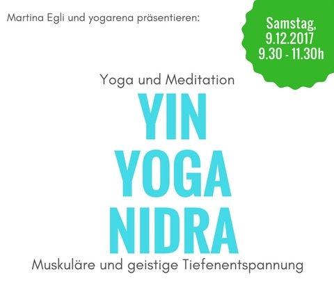 9.12.17, 9.30: Yin Yoga Nidra