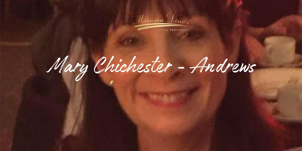 Performing live - Mary Chichester-Andrews in Mamma Lina's