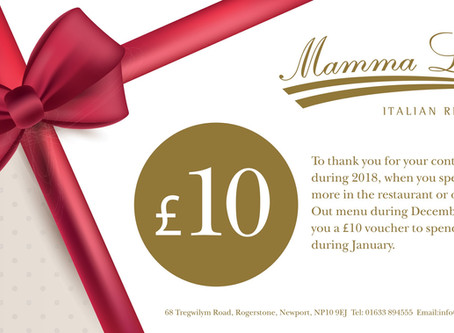 £10 Off Orders and Your Bill in January
