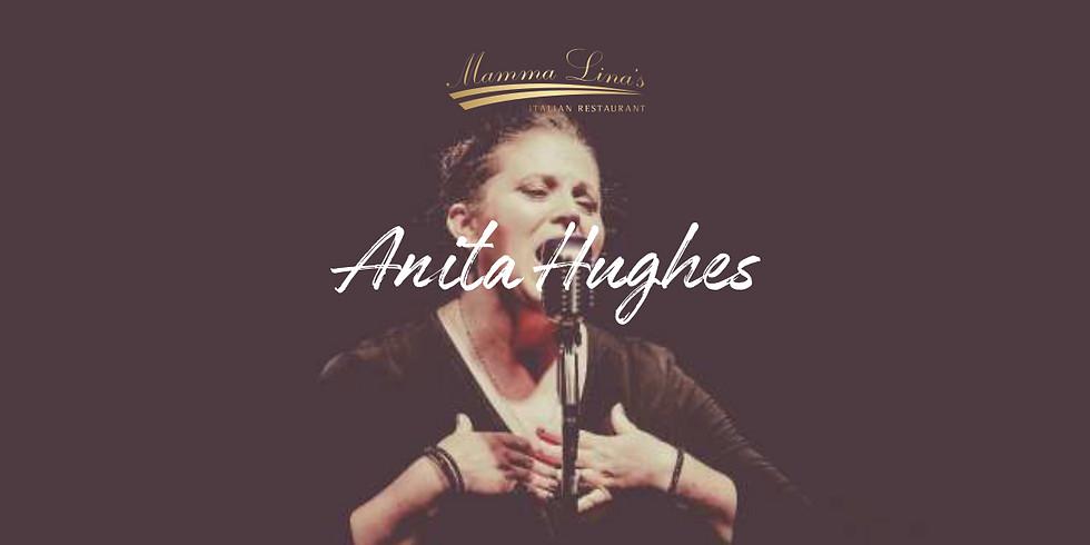 Live in Mamma Lina's Cardiff – Anita Hughes