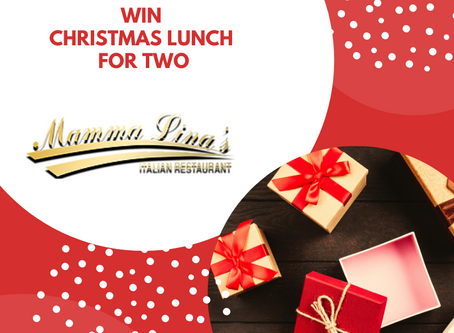 WIN CHRISTMAS LUNCH FOR TWO