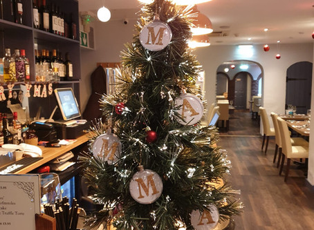 It's Officially Christmas in Our Albany Road Italian Restaurant