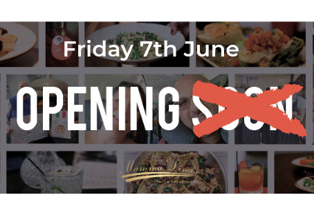 We Will Be Opening On Friday June 7th