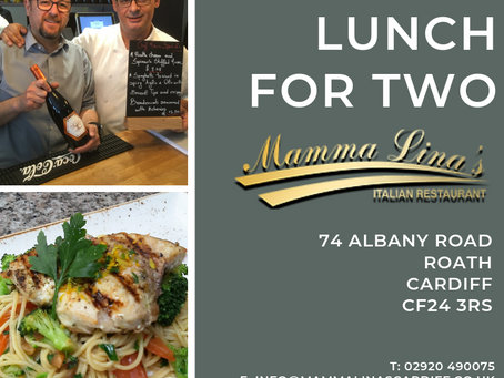 Win Lunch for Two People