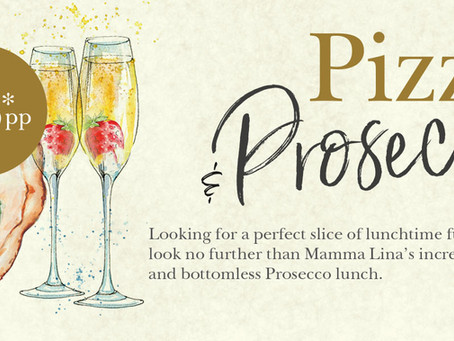 Unlimited Pizza & Prosecco Every Lunchtime in Our Cardiff Restaurant