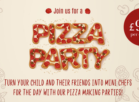 Pizza Making Parties!
