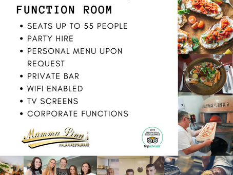 Private Parties & Corporate Bookings