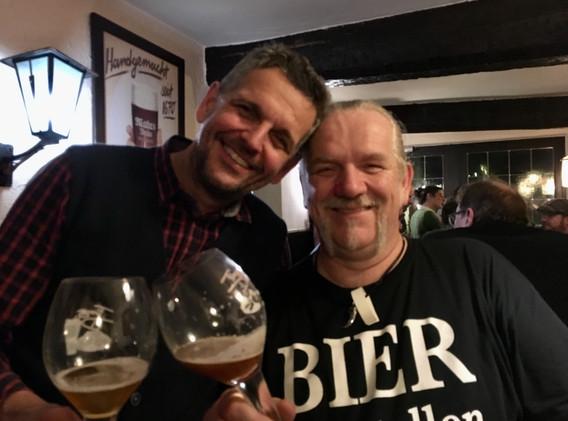Jörg Dietrich (Landbierzentrum) mit BIERgenial