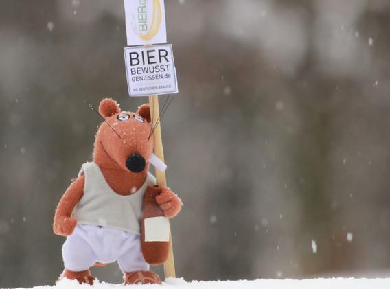 Max von BIERgenial im Winter