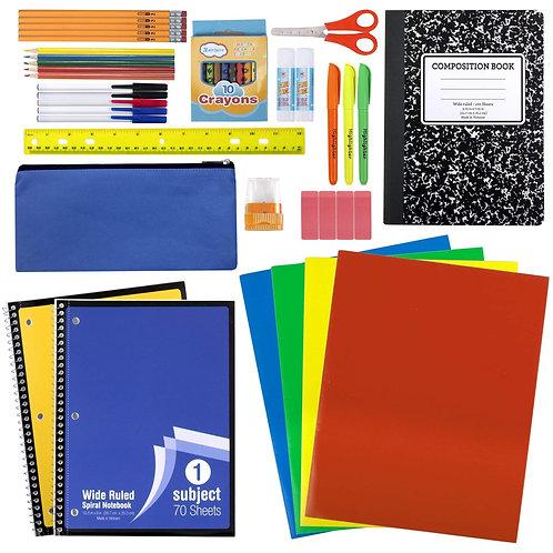 45 Piece School Supply Kit
