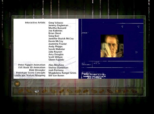 Peter Gabriel's EVE