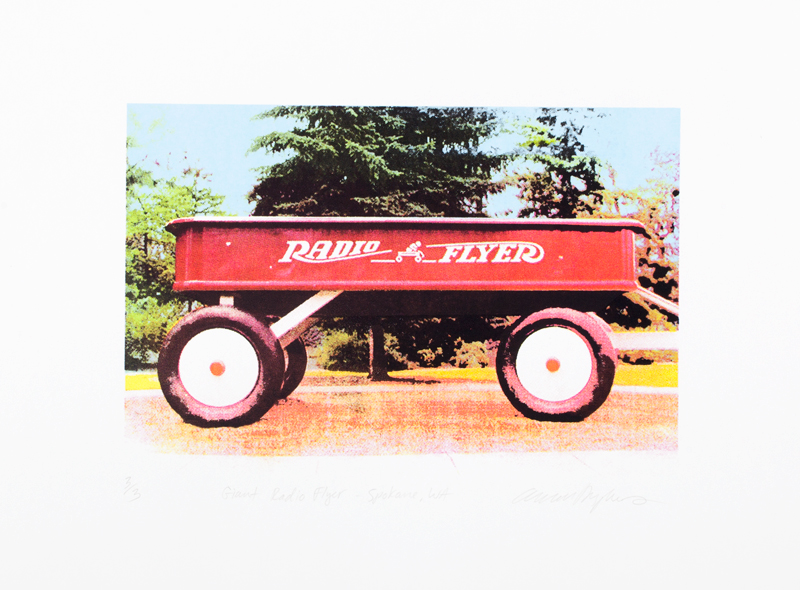 Giant Radio Flyer - Spokane, WA