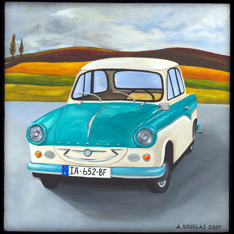 Bavarian Fall and Trabant