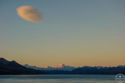NZ - Pukaki lake