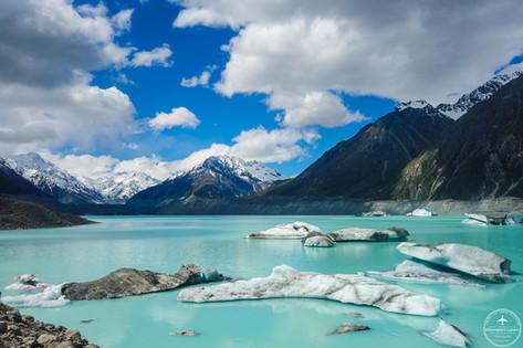 NZ - Tasman glacier