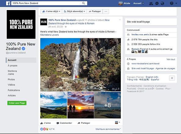 100% Pure New Zealand Feature NZ