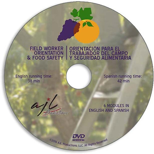DVD: 12 videos, 2 languages (English/Spanish), an easy to use menu and 6 topics.