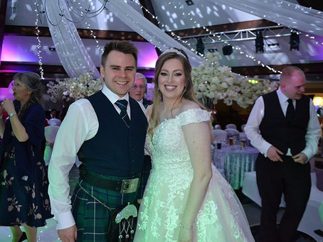 Edward & Claire Grahame, Airth Castle Hotel & Spa