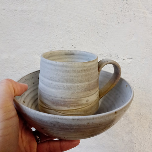 Winter bowl and mug set