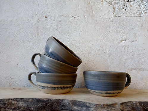 Wide Rimmed Cups / soup mugs