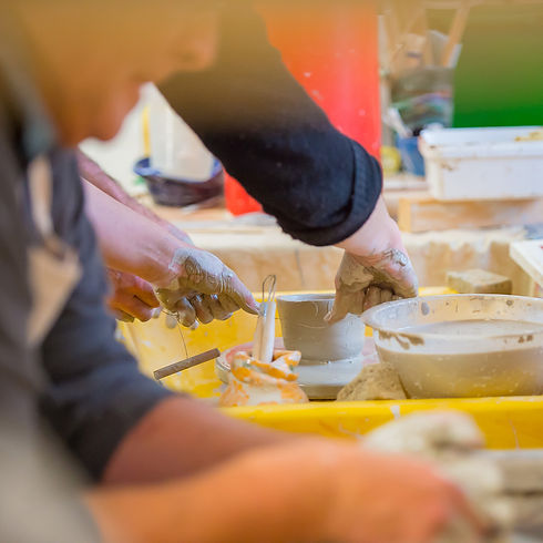 Pottery Classes in Dunoon, Scotland