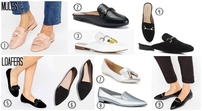 Mules and Loafers Spring Shoes