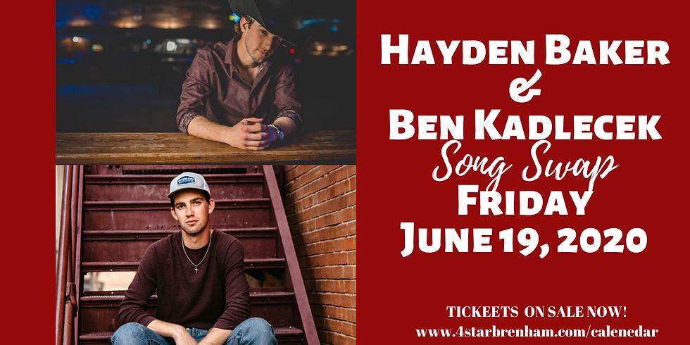 Hayden Baker & Ben Kadlecek Song Swap