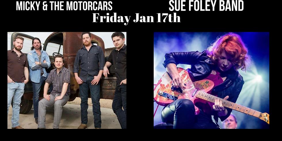 Micky & The Motorcars & Sue Foley Trio