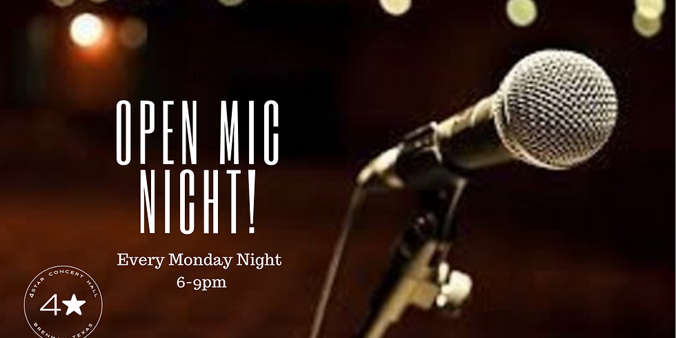 NO COVER-OPEN MIC MONDAYS with Aaron Loesch!