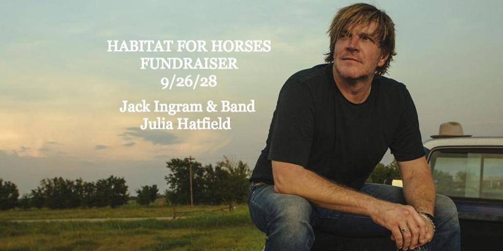 Jack Ingram and Habitat for Horses Fundraiser