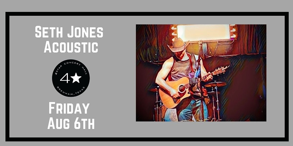 Seth Jones Acoustic