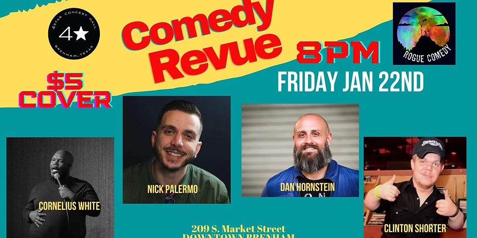Comedy Night with Rogue Comedy-- NO COVER!
