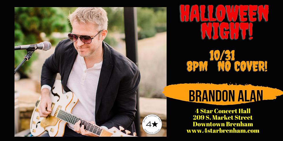 Brandon Alan- Halloween Night- No Cover!