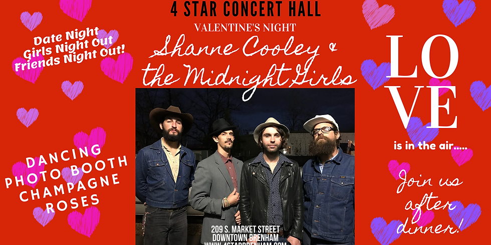 Valentine's with Shane Cooley & The Midnight Girls
