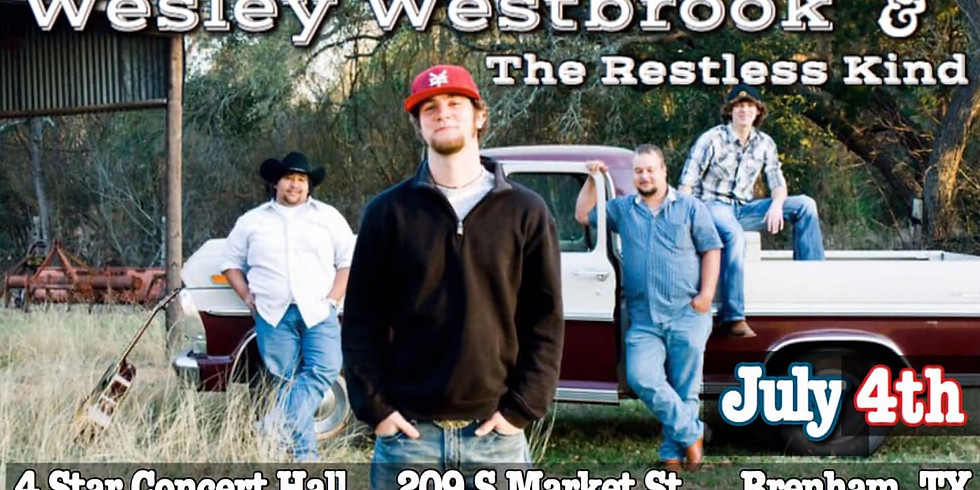 Wesley Westbrook and The Restless Kind