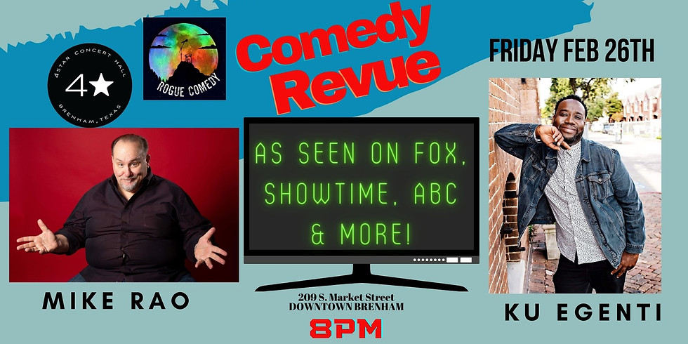 Comedy Night with Rogue Comedy!