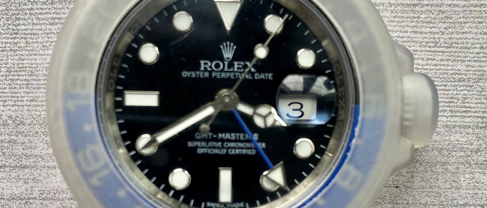 Rolex case protector made of silicone rubber