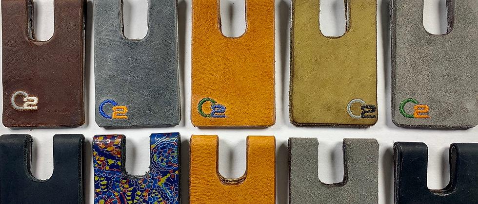 Italian Leather Calfskin Minimalistic Wallet